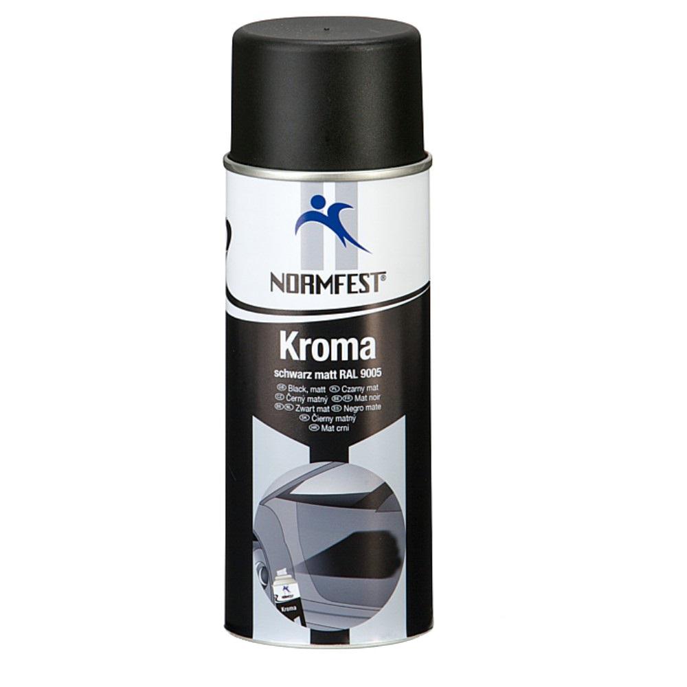 lack spray schwarz matt autolack benzinfest spraydose kroma 400ml. Black Bedroom Furniture Sets. Home Design Ideas